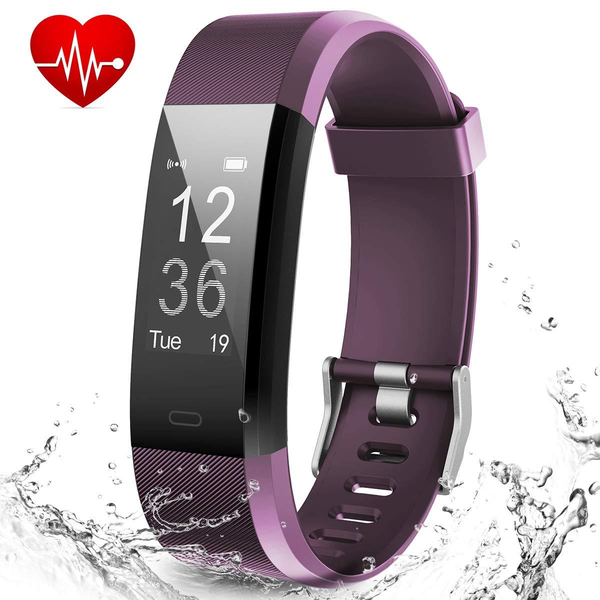 Smart Fitness Band, Muzili Activity Tracker with Heart Rate