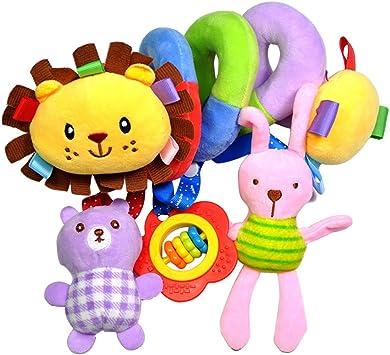 Cochecito de beb/é en espiral juguetes para colgar Juguete para cochecito de beb/é Toymytoy
