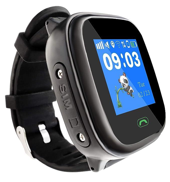 Amazon.com: Gaurdeen LD8S Kids Smart Watch Phone 2G GSM ...