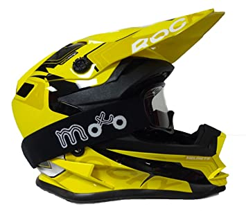 NUEVO Casco Moto Niños 3 Go xk188 Rocky Junior Casco Motocross Off Road MX Quad Cub