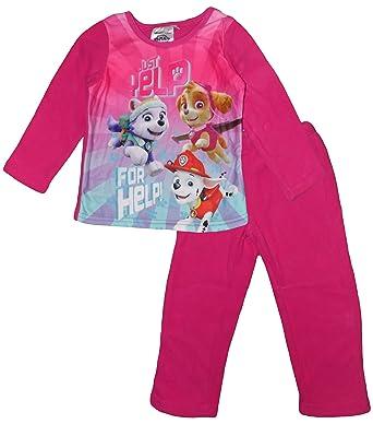 ad4bd3a9ca Nickelodeon Paw Patrol Girl De Invierno Polar Conjunto De Pijama (Fuchsia