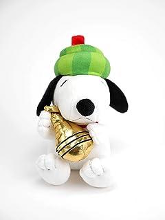 Amazon.com  Peanuts Snoopy Fall Leaves Print Floppy Stuffed Animal ... 99b90f65b20e