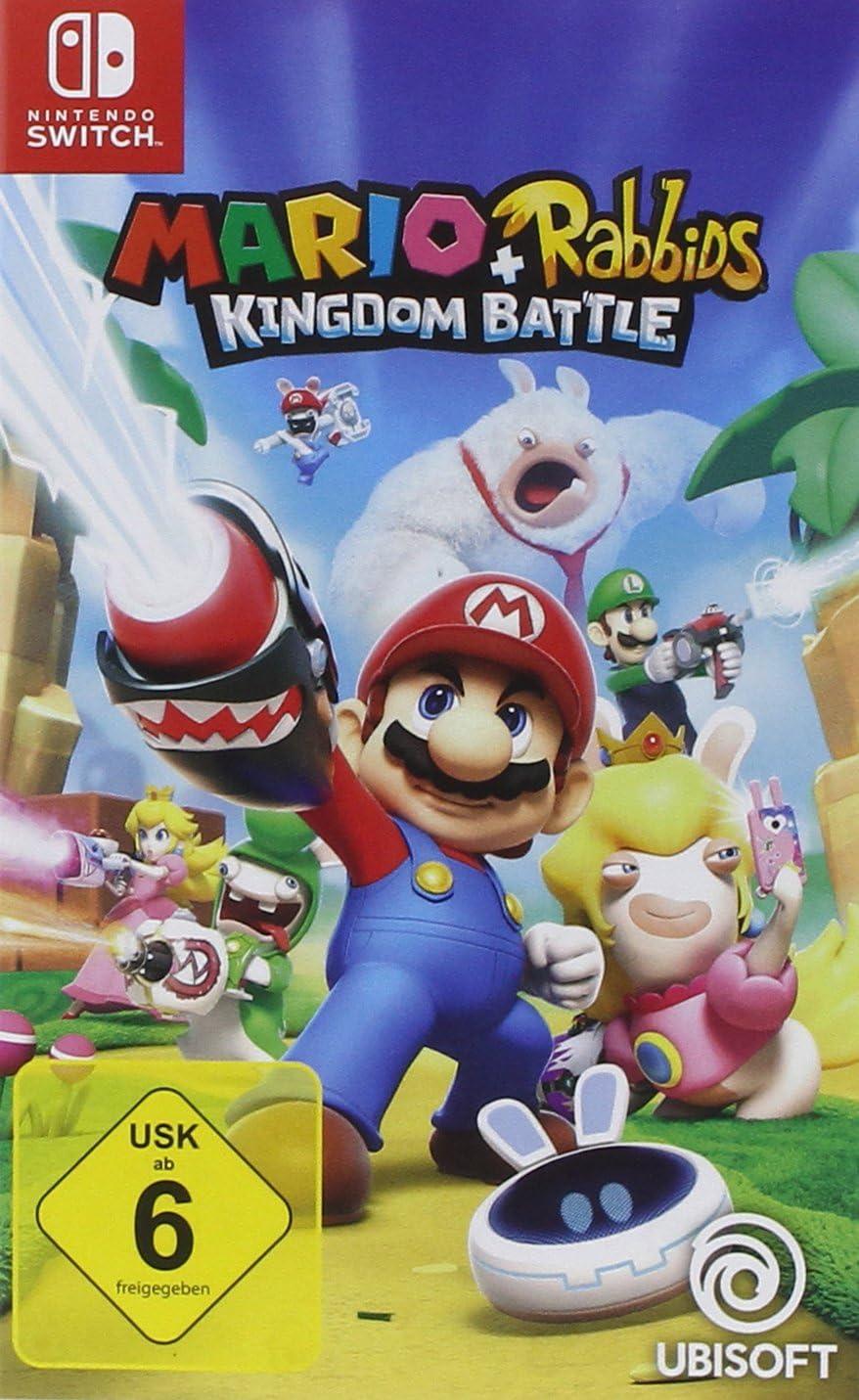 Mario & Rabbids Kingdom Battle - Nintendo Switch [Importación alemana]: Amazon.es: Videojuegos