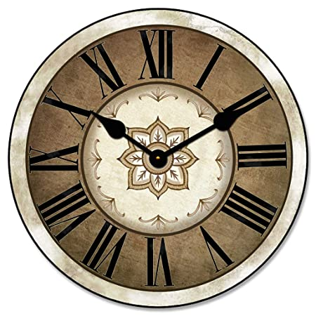Charlotte Wall Clock, Available in 8 Sizes, Most Sizes Ship The Next Business Day,