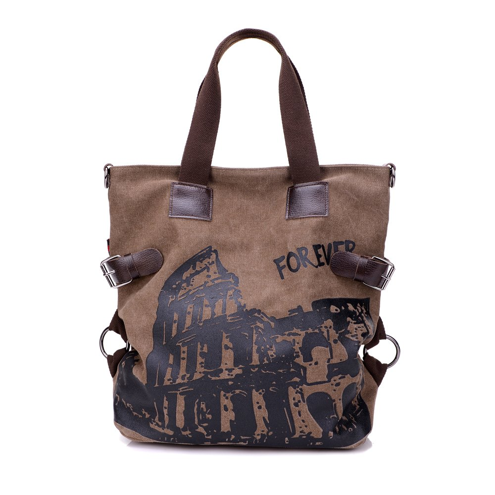 Women Shoulder Bag Casual Hobo Canvas Handbag Daily Purse Top Large capacity Tote Shopper Retro Bags