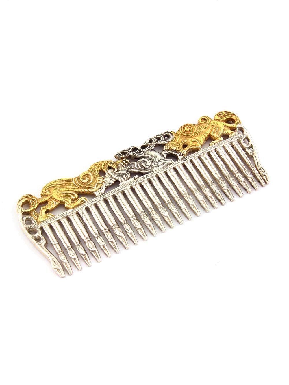 Silver Hair comb ''Scythian''