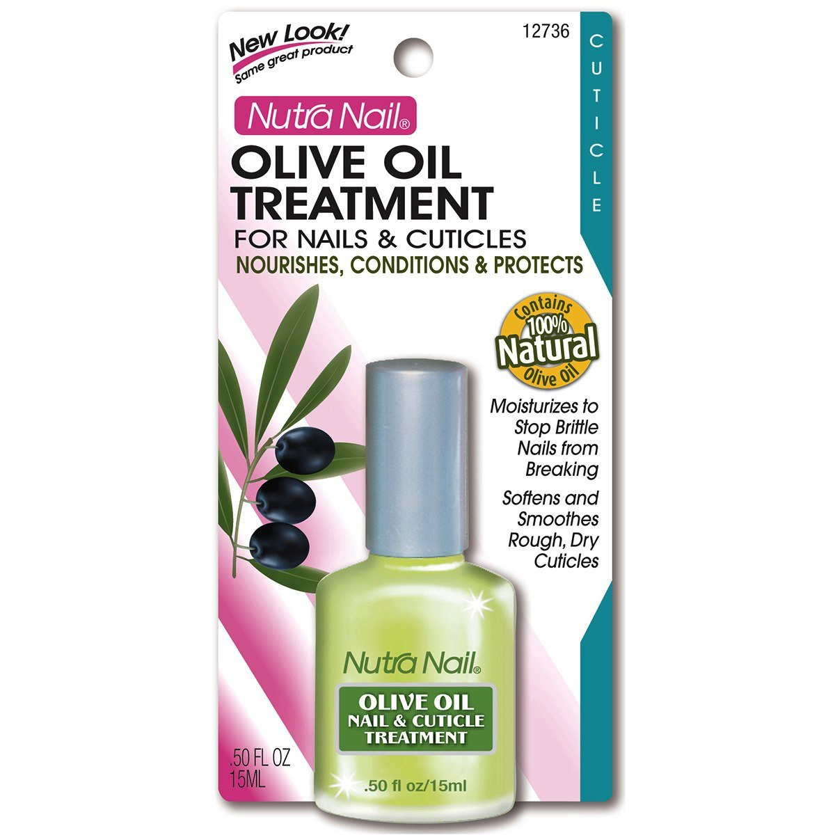 Amazon.com : Nutra Nail Olive Oil Treatment for Nails and Cuticles ...