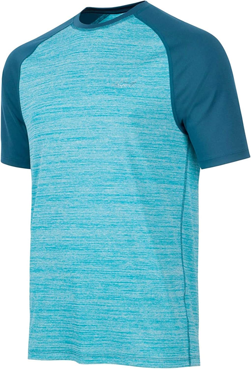Greg Norman Mens Heathered Rapiddry Graphic T-Shirt