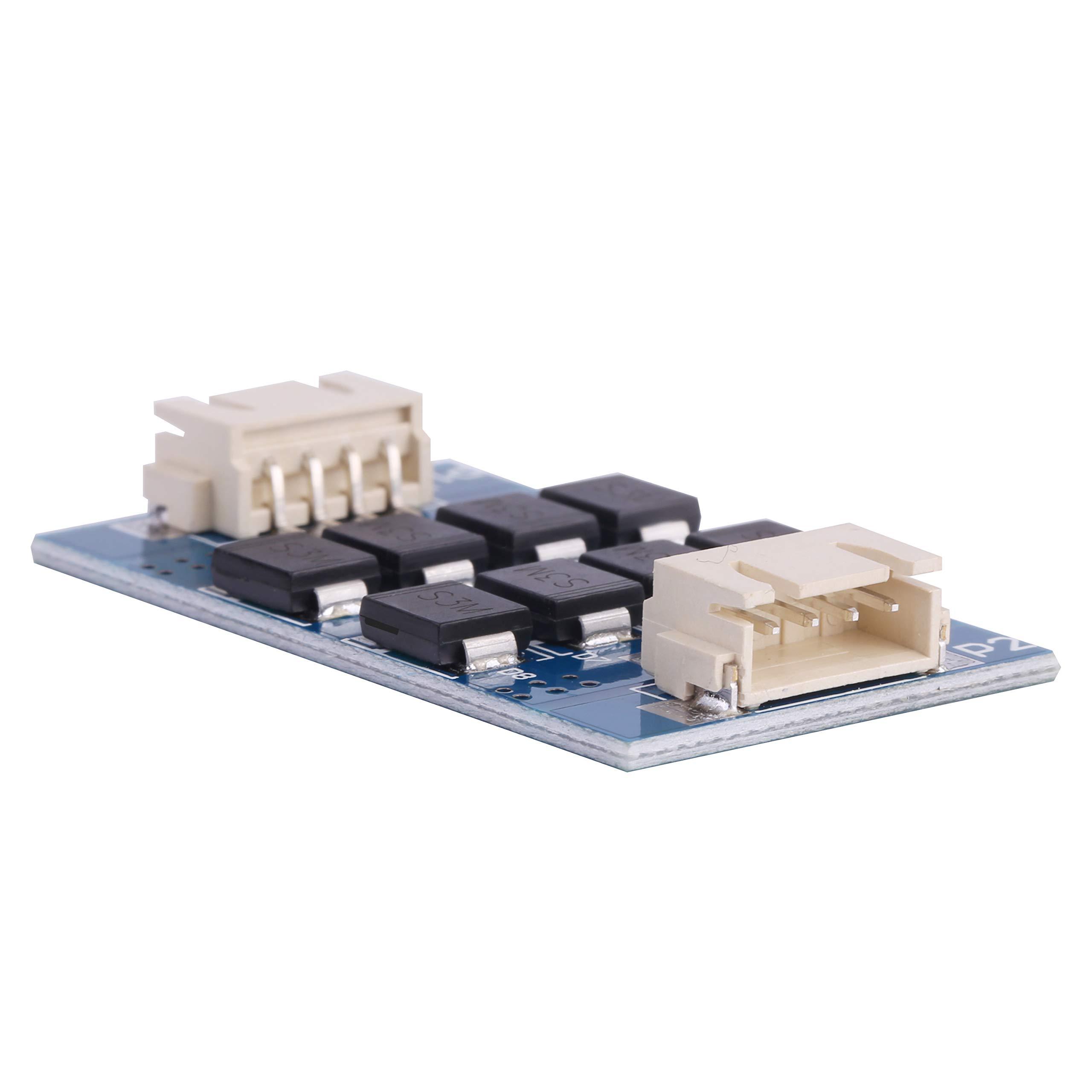 MakerHawk 4pcs TL-Smoother Module Heatsink with Du-pont Wire Kits for Pattern Elimination Motor Filter Clipping Filter 3D Printer Motor Drivers Terminator Reprap MK8 I3 Assembled
