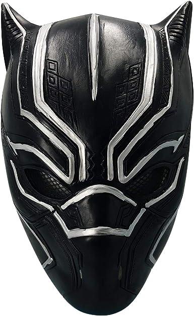 HUALIAN Máscara de Pantera Negra para decoración de Casco ...