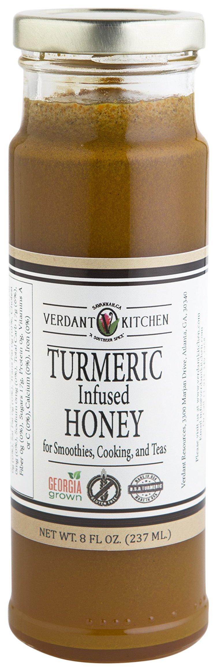 VERDANT KITCHEN Turmeric Infused Honey, 12 oz.