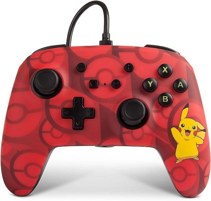 Power A - Mando con cable mejorado Pikachu para Nintendo Switch ...