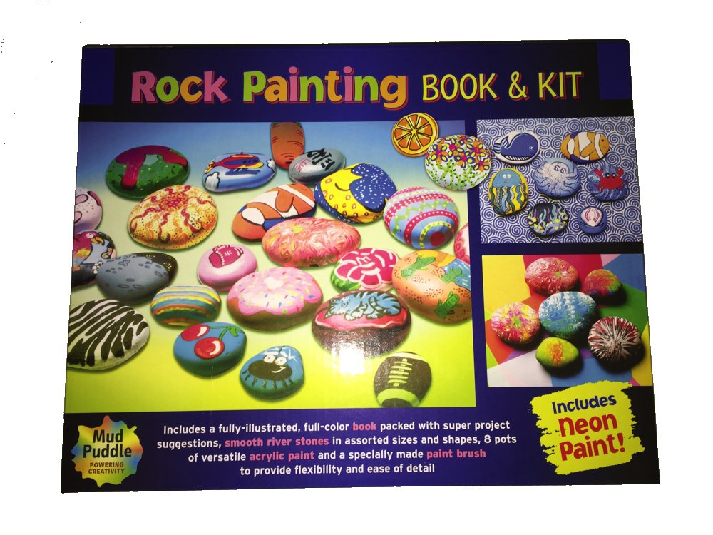 Rock Painting Book and Kit Mud Puddle Inc. 4336952855