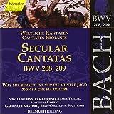 Bach: Secular Cantatas, BWV 208, 209 (Edition Bachakademie Vol 65) /Rilling