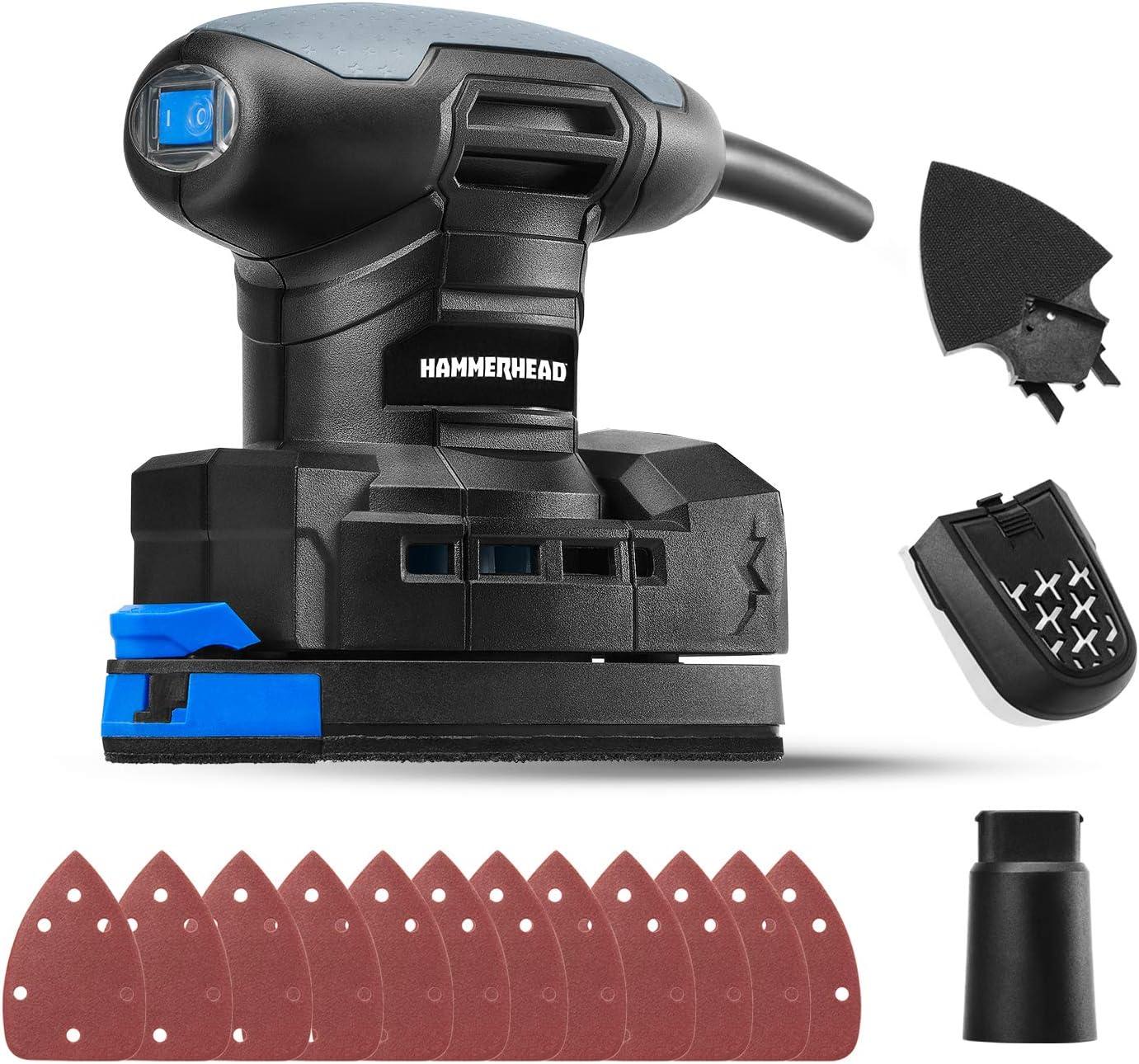 Hammerhead HADS014 1.4-Amp Multi-Function Detail Sander $20 Coupon