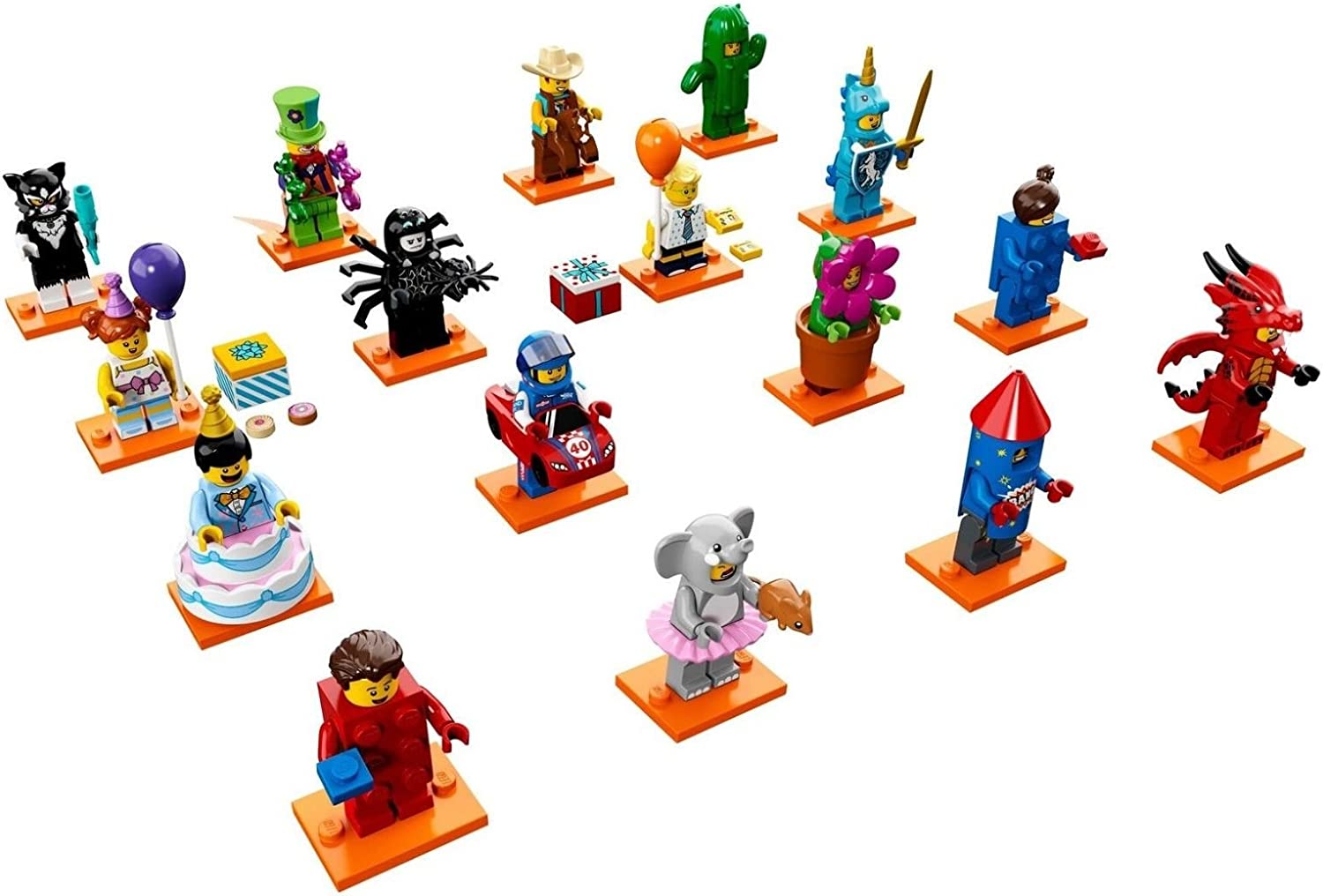LEGO Series 18 Minifigures Choose Your Figure Brand New Complete Sets 71021