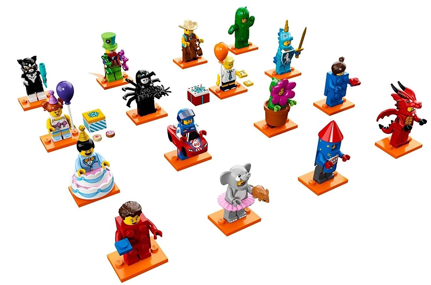 Lego Series 18 Costume Collectible Minifigures Set Of 71017 Batman Movie Box 60 16 Sealed 71021 Toys Games