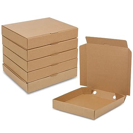 Cajas de cartón para pizzas a domicilio de URBN Living, 25, 50, 100