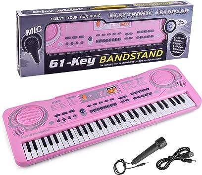 Teclado De Piano De Música Digital 61 Teclas - Instrumento ...