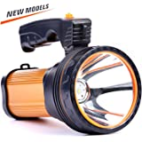 CSNDICE 35W LED Rechargeable Handheld Flashlights, High-power Super Bright 6000mah 9000 Lumens, USB Power Bank…