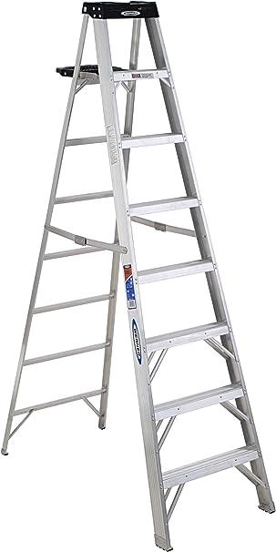 Werner kg Deber calificación escalera de aluminio: Amazon.es: Bricolaje y herramientas