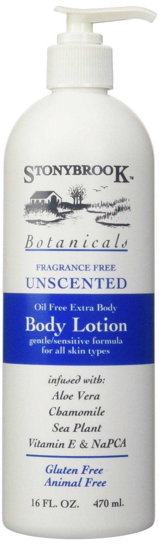 Stony Brook Body Lotion Unscented, 16 Fluid Ounce by Stoneybrook