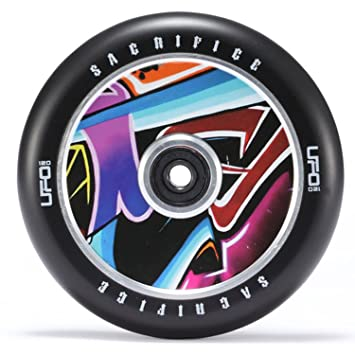 Sacrifice Wheels UFO 120 mm Patinete rollo + Fan tic26 ...