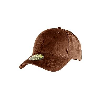 prix favorable style populaire grand choix de 2019 Casquette Baseball NY New York marron style Daim - Suede ...