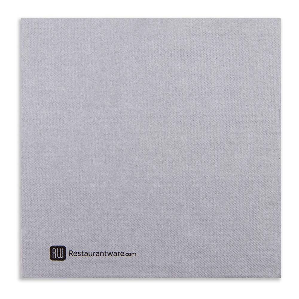 Luxenap Air Laid Dinner Napkins - Soft and Durable 16'' x 16'' Black Denim Paper Napkins - Disposable and Recyclable – 600-CT – Restaurantware