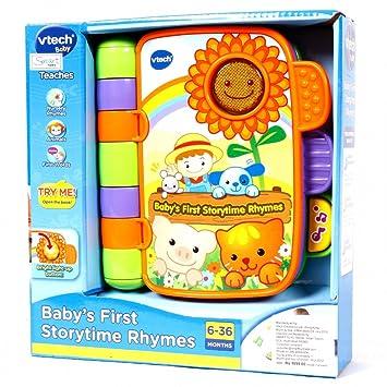 Vtech Storytime Rhymes Buchen Amazonde Spielzeug