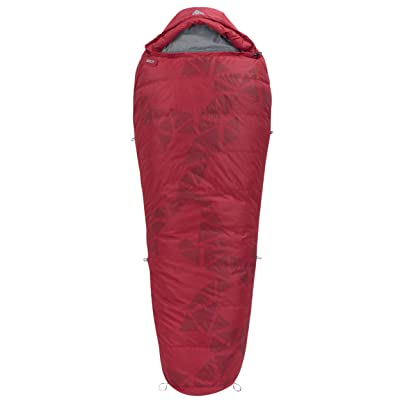 Kelty Cosmic Down 20-Degree Sleeping Bag, Red, 6-Feet