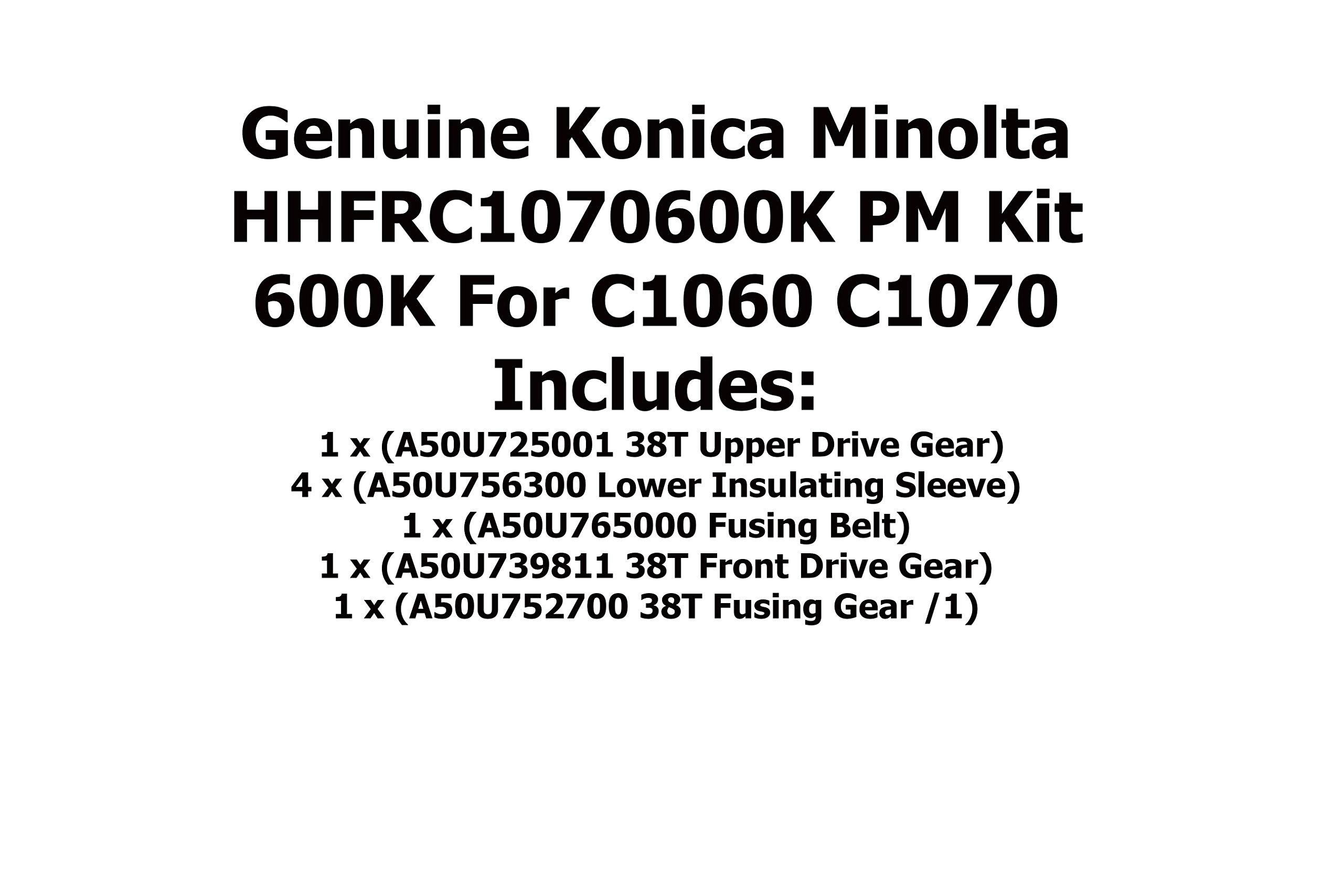 Genuine Konica Minolta HHFRC1070600K PM Kit 600K for C1060 C1070