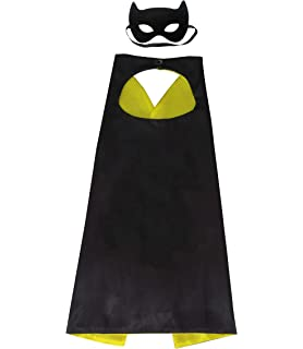 Character Costume for Birthday Party Supplies Edition Superhero Capes /& Mask for Kids Christmas