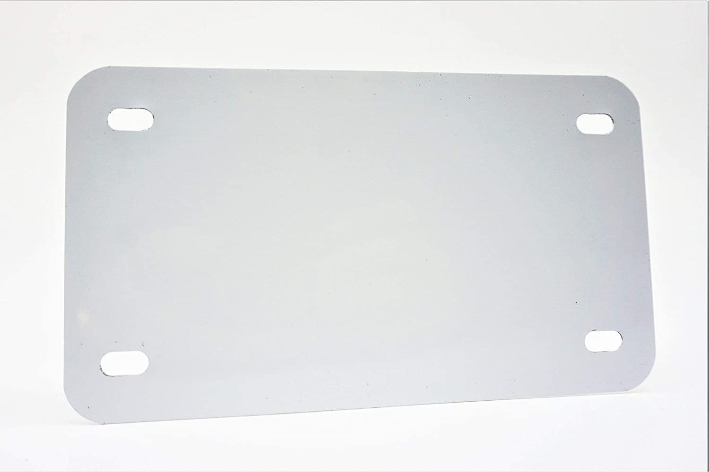 5 Pack-$4.49//Each Partsapiens Corp. - 12x6 0.5mm Anodized Aluminum License Plate Blanks Gauge .020