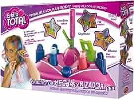 Estilo Total Estudio de Mechas y Rizador (BIZAK 35005027): Amazon.es: Juguetes y juegos
