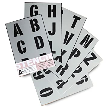 Con Lettere Dell Alfabeto E Numeri 7 Cm Di Altezza Grande Maiuscole