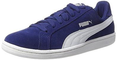 289f410ed517 Puma Unisex-Erwachsene Smashsd Sneaker, Blau (Blue Depths-White), 36