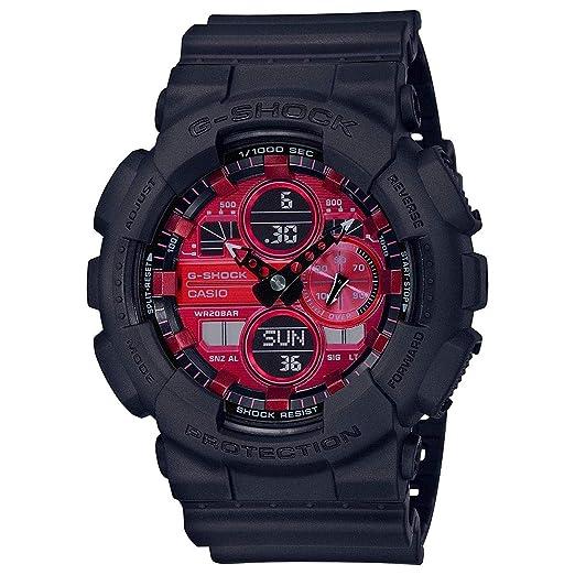 : Casio G Shock Adrenalin Red Series GA140AR 1A