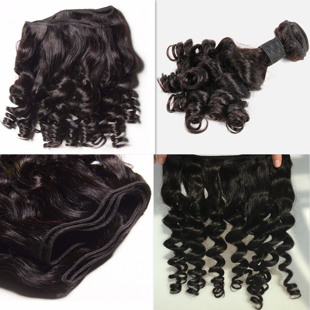 Amazon Brazilian Virgin Hair With Closure Bob Weave 3 Bundles
