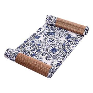 Japanischen Stil Tischdekoration Bambus Tischlaufer Matte Tee