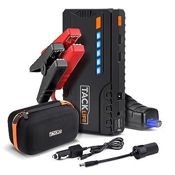 Jump Starter, tacklife T6 600 un gran capacidad portátil batería de emergencia coche batería de