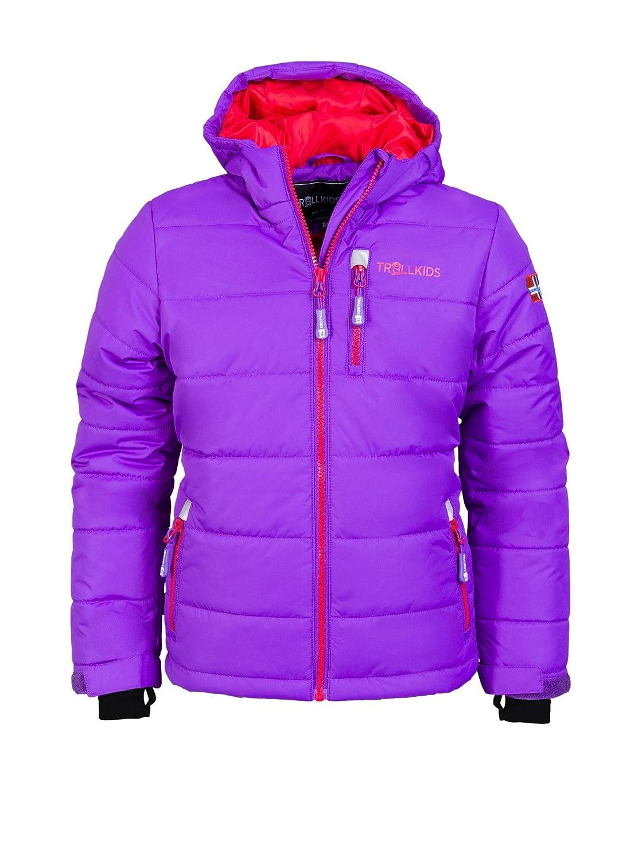 Violet - Violett   rouge 104 cm TrollEnfants Veste de ski enfant Hemsedal