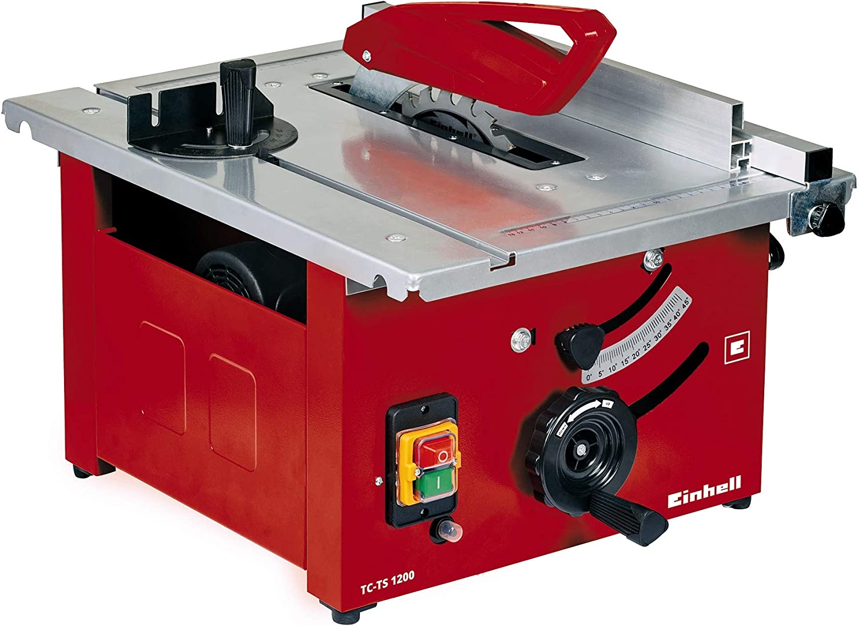 Einhell TC-TS 1200 Sierra de mesa - Máquinas de coser fijas (4800 ...