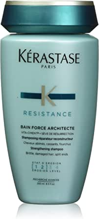 Kerastase Resistance Bain Force Architecte Shampoo for Unisex - 8.5 oz, 255 ml
