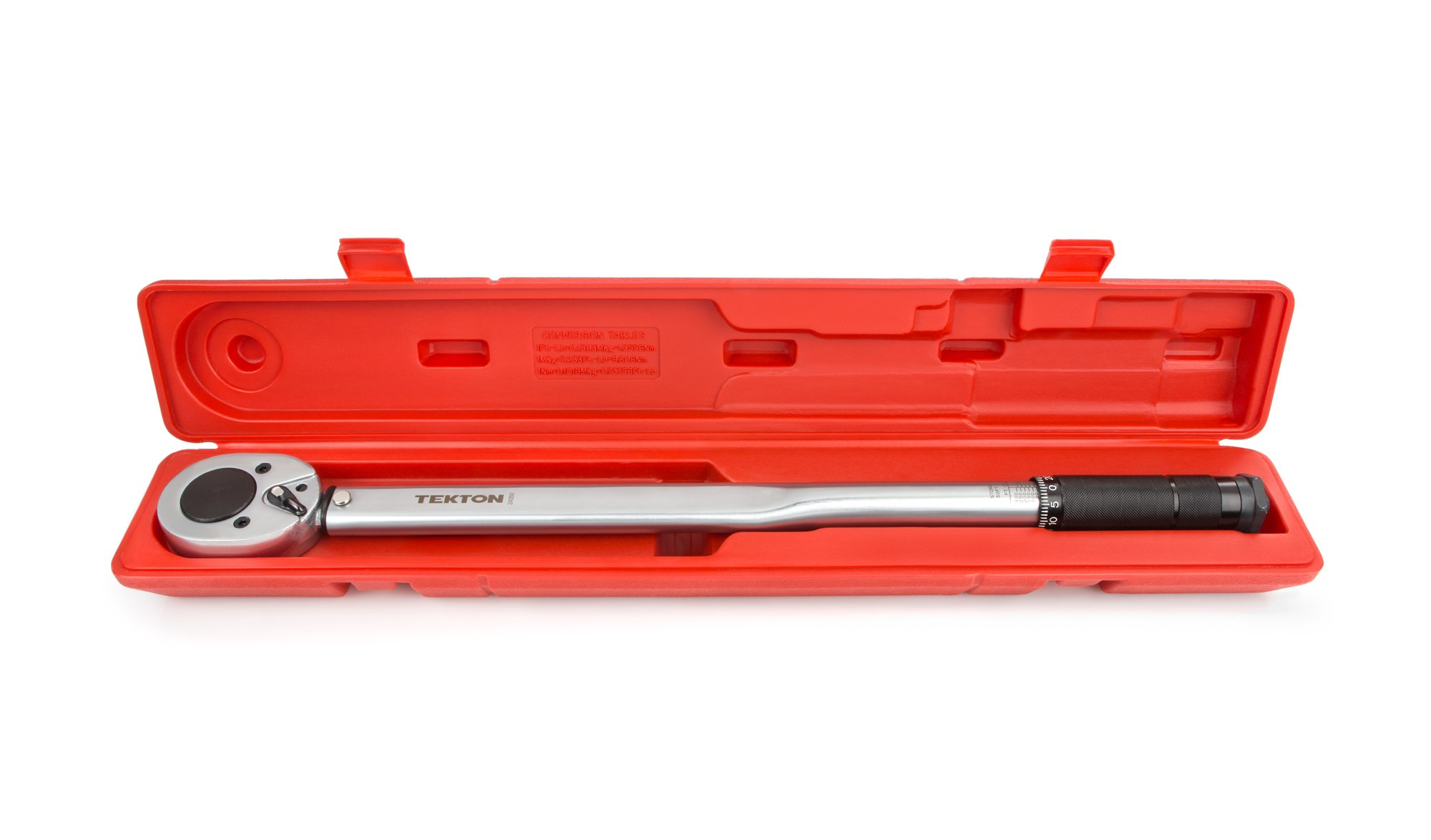 TEKTON 24350 3/4-Inch Drive Click Torque Wrench (50-300 ft.-lb./67.8-406.7 Nm) by TEKTON (Image #2)