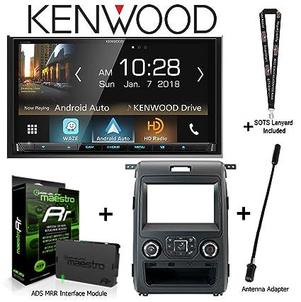Amazon com: Kenwood DDX8905S DVD Receiver, iDatalink KIT-F150