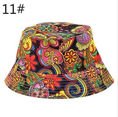 Panama Cap Summer Women Men Bucket Hat Holiday Beach Outdoor
