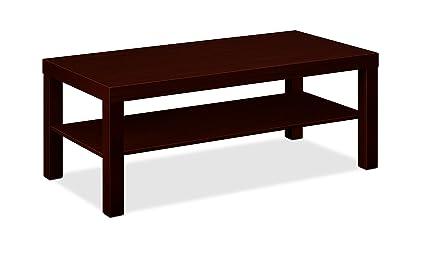 HON BL Series Coffee Table, Flat Edge Profile, 42u0026quot; W X 20u0026quot;