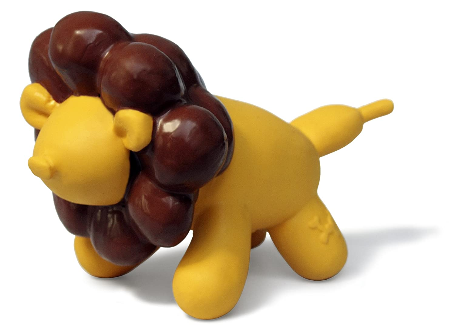 Charming Pet Products DCA79952XS Premium Latex Jungle Balloon Dog Toy, Lily The Lion, Mini