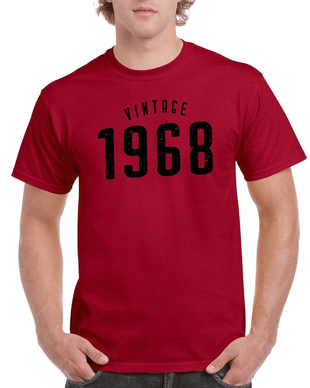 Amazon Okaytee 50th Birthday Gift Ideas 1968 Vintage T Shirt For Men And Women Clothing